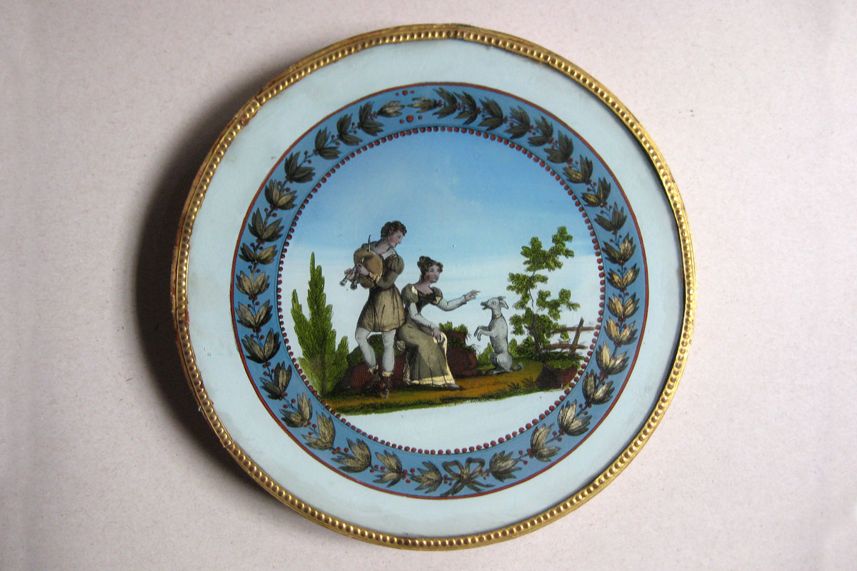 Boîtes à dragées, XIXe siècle (inv.85.6.151)