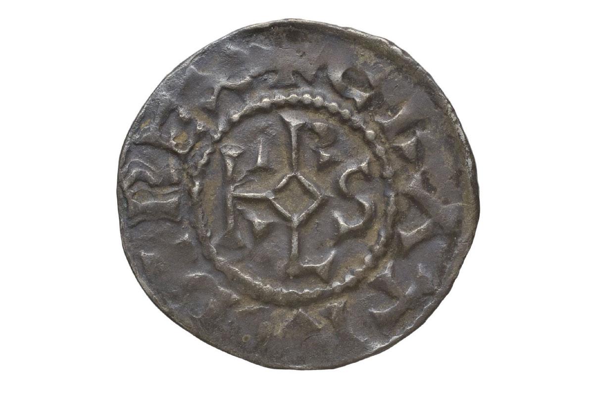 Denier de Charles III Le Simple, Verdun, vers 879-929, argent (inv.2018.1.1)