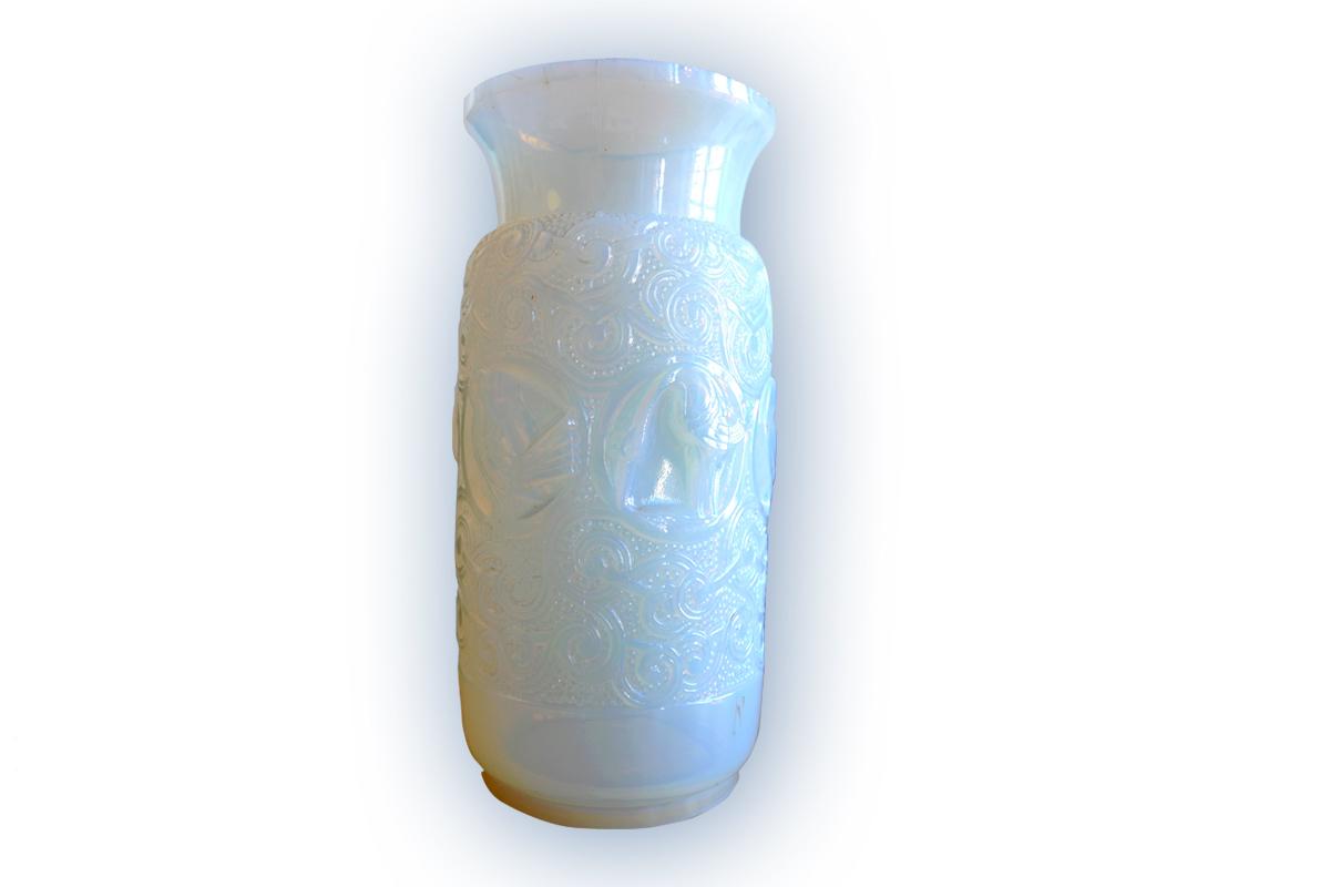 Vase, Verrerie MODEL, vers 1930-1940, verre, Don 2013 (inv.2013.1.1)